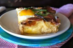 Buttermilk Baked French Toast Recipe . . . With a Side of Bacon and Eggs