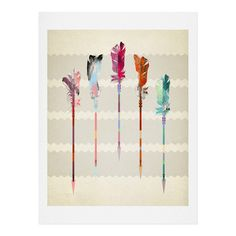 Iveta Abolina Feathered Arrows Tapestry | DENY Designs Home Accessories