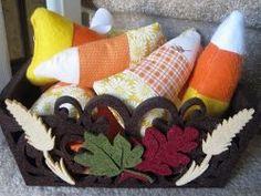 Stuffed Candy Corn | AllFreeHolidayCrafts.com