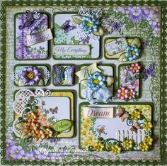 New Butterfly Medley Collection from Heartfelt Creations.