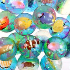 Side Street Gifts » 3D Tropical Fish Bouncy Ball