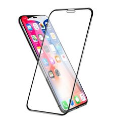 Full Cover Tempered Glass Screen Protector Film For iPhone 11 Pro Max Black Iphone 7, Case Iphone 6s, Phone Screen Protector, Tempered Glass Screen Protector, Smartphone Case, Pineapple Images, Max Black, Good Communication, Living At Home