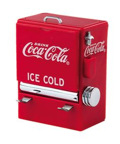 Another great find on #zulily! Coca-Cola Vending Machine Toothpick Dispenser by TableCraft #zulilyfinds
