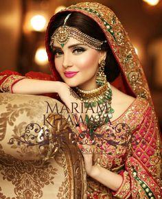 Tussi Necklace and Kasu Haram - Indian Jewellery Designs Pakistani Bridal Makeup, Indian Bridal Fashion, Bridal Photoshoot, Indian Jewellery Design, Bridal Jewellery, Asian Bridal, Wedding Hair And Makeup, Bridal Hair, Bridal Looks