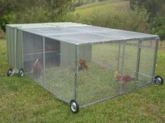ready made chicken tractor