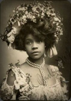 Aida Overton Walker - The most influential and revered African-American female theatre performer during the transition into the 20th Century.