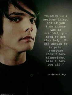 Gerard Way Quotes gerard way quote in 2019 gerard way my chemical romance Gerard Way Quotes. Here is Gerard Way Quotes for you. Gerard Way Quotes inspiring quote gerard way things that make me smile in. Gerard Way Quotes 77 . Emo Band Memes, Emo Bands, Music Bands, Emo Meme, Mcr Band, Cat Memes, Rock Bands, My Chemical Romance, Mcr Quotes