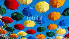 "Download the royalty-free video ""Time lapse of multi-colored umbrellas in sky above the street. Alley floating umbrellas."" created by sebos at the best price ever on Fotolia.com. Browse our cheap image bank online to find the perfect stock video clip for your marketing projects!"
