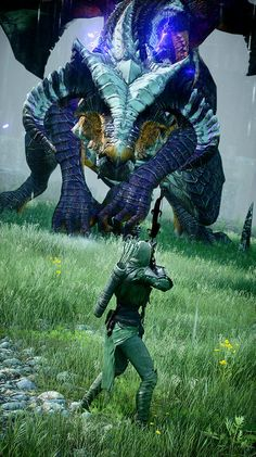 Dragon Vinsomer in the Storm Coast - Dragon Age: Inquisition