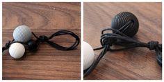 Kädenjälkiä - handmade by Eva: Puuhelmet Handmade, Necklaces, Hand Made, Handarbeit