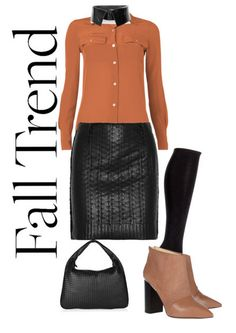 Formally Leather Formal, Polyvore, Leather, Image, Fashion, Preppy, Moda, Fashion Styles, Fasion