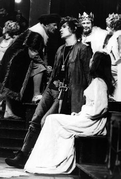 1971 - Ian McKellen as the Prince in 'Hamlet' during the Nottingham Playhouse…