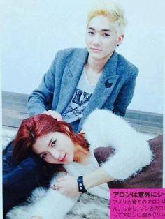 NU'EST Aron and Ren