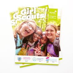 Hot off the presses – check out the new Spring/Summer Girl Scout member magazine! It's full of goodies like ideas for bridging ceremonies, an at-a-glance calendar, a sampling of River Valleys' even… Summer Girls, Spring Summer, At A Glance Calendar, Girl Scout Juniors, Daisy Girl Scouts, Brownie Girl Scouts, New Girl, Daisies, Brownies