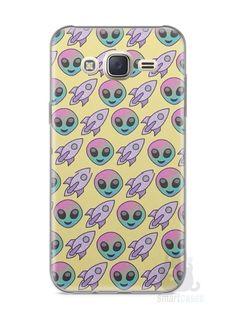 Capa Capinha Samsung J7 Aliens e Foguetes - SmartCases - Acessórios para celulares e tablets :)