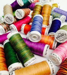 Sulky has New Colors! 80 new 12 wt. Cotton Petites thread for hand embroidery! #SulkyCottonThreads