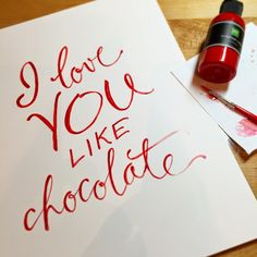 Pamela Jane's Studio: I love you like chocolate Girlfriend Quotes, Like Chocolate, I Love You, Heart Designs, Blog, Studio, Pj, Doodles, Cricut