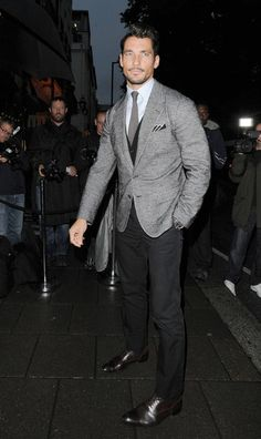 David Gandy attends the Harpers Bazaar Fashion Party at Annabels in London - september 17, 2013