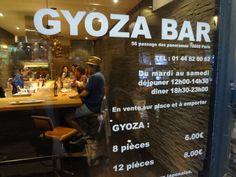 Gyoza Bar -56 passage des panoramas 75002 Paris