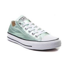 Converse Chuck Taylor All Star Lo Metallic Sneaker - Jade - 399460