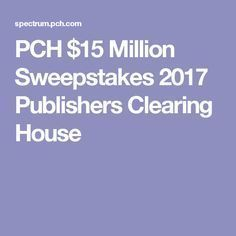 Pch sweepstakes winners 2018 mp3