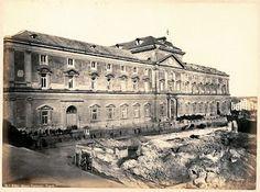 Museo Nazionale di Napoli, foto conservata all'ACS di Roma