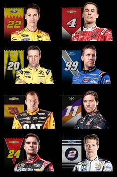 NASCAR Race Mom: Eight Nations Battle  Four Will Advance  #NASCAR Race Mom - 2014 NASCAR Chase fans will be on the edge of their seats wondering if their favorite driver can persevere to move on to the Championship Round in Miami.
