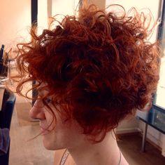 Red Curls# Suprise # Side cut