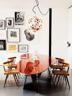 Mesa de jantar escultural 'Cloud'