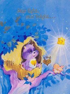 Care Bear Cousins: Bright Heart Raccoon Card