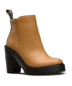 Tan Magdalena Leather Boot - Women