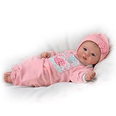 """Shop The Ashton-Drake Galleries Online for Little Squirt Baby Doll All little babies have nicknames unique to their personalities. Now, this Little Squirt Baby Doll is sure to generate enough """"oohs"""" and """"ahhs"""" to confirm her nickname suits her perfectly. Bb Reborn, Reborn Dolls, Reborn Babies, Reborn Toddler, Toddler Dolls, Newborn Baby Dolls, Baby Girl Dolls, Baby Boys, Real Life Baby Dolls"""