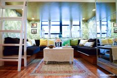 Bohemian Luxury - Bringing cool Cali style to an Upper West Side studio @Homepolish NYC
