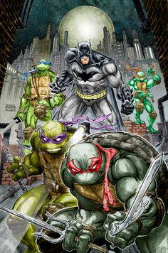 Batman/Teenage Mutant Ninja Turtles -  Freddie E. Williams II