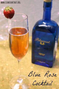 Blue Rose – Valentine's Day Cocktail with Bluecoat Gin