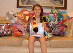 Jayme Schrank collected new toys for her Bat Mitzvah then donated to K.I.D.S.