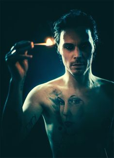 """Ville Valo, """"Knowing Me Knowing You"""" Music Video Shoot, Helsinki, 2016"""