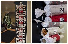 DIY Calendarios de adviento: con christmas crackers