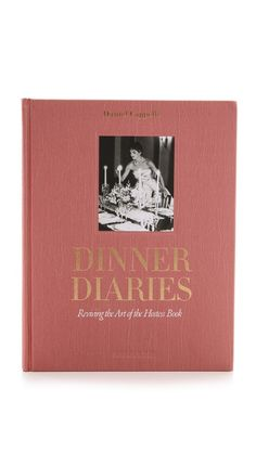 Books with Style Dinner Diaries $50