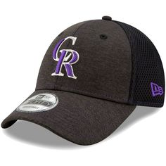 free shipping ed5f1 b4de4 Youth Colorado Rockies New Era Black Team Tread 9FORTY Adjustable Hat,   19.99