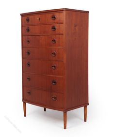 Antiques Atlas - Mid Century Modern Danish Teak Chest Of Drawers