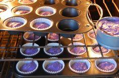 Tutorial for purple Princess cupcakes