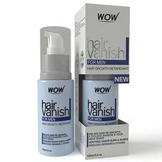 WOW Hair Vanish For Men  All Natural Hair Removal Cream Lotion Moisturizes Skin  Reduces Growth Hair Thickness  Appearance * Check this awesome product by going to the link at the image.Note:It is affiliate link to Amazon.