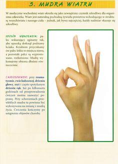 UZDRAWIAJĄCA MOC W TWOICH PALCACH Hand Mudras, Tai Chi, Reiki, Texts, Meditation, Health Fitness, Yoga, Beauty, Mantra