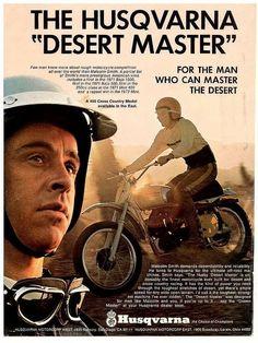 MMVV: 1974 Husqvarna CR450 Malcolm Smith Desert Master