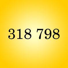 Código 318 798 para ABUNDÂNCIA FINANCEIRA