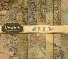 World maps vintage style digital 12 x 12 inch decoupage texture world maps vintage style digital 12 x 12 inch decoupage texture commercial use 8 scrapbooks premade pages nr79 commercial decoupage and scrapbook gumiabroncs Image collections