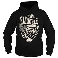 Awesome Tee Last Name, Surname Tshirts - Team KLINGELE Lifetime Member Eagle Shirts & Tees