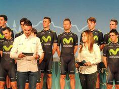 Gallery: #Movistar team presented in #Madrid - Movistar team presentation in Madrid.