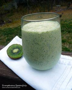 Tropical Kiwi Monster Protein Kale Smoothie